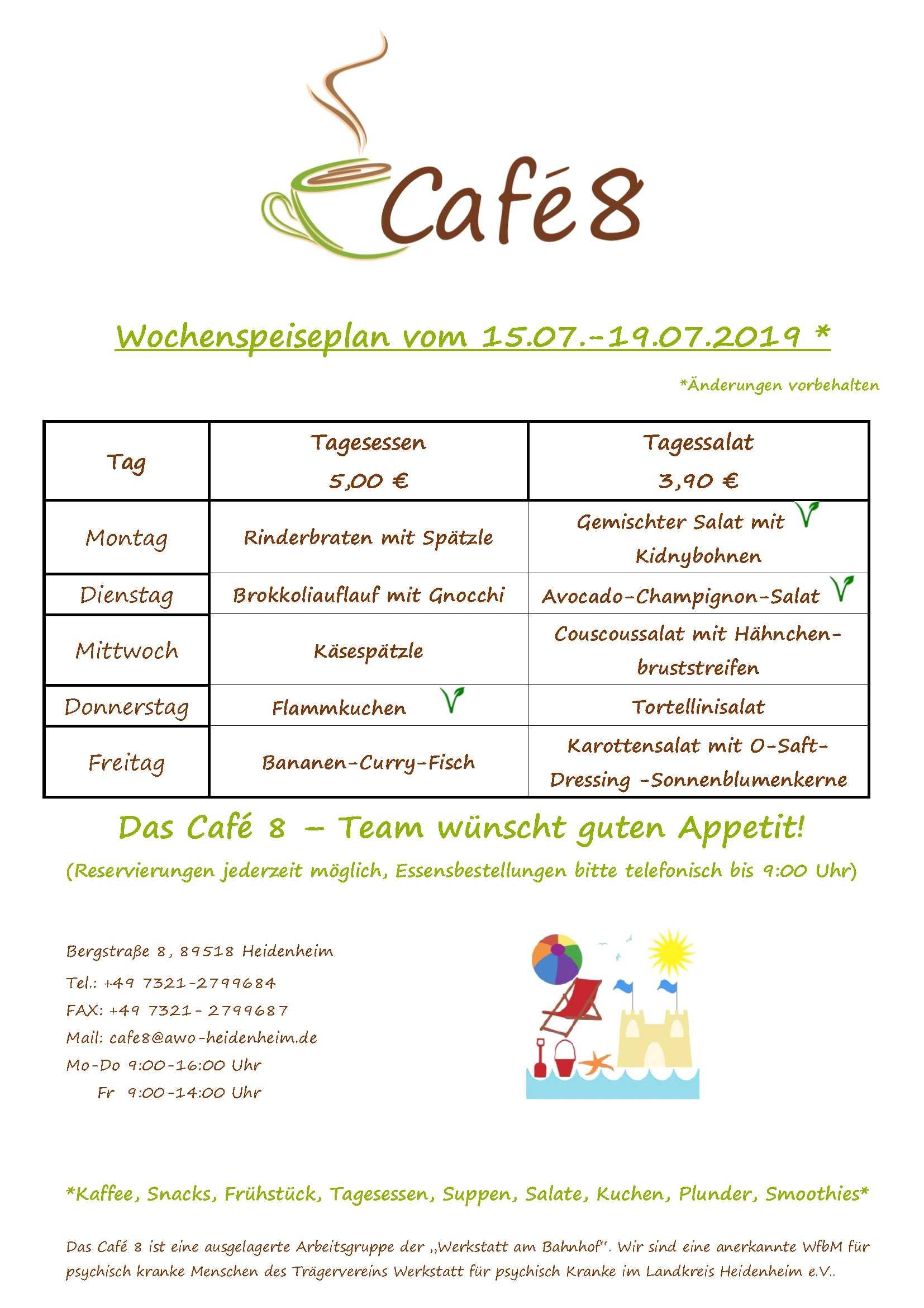 Cafe8_Wochenspeiseplan_KW29-19