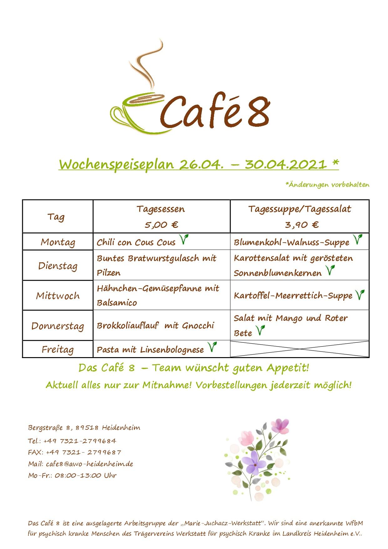 Cafe8_Wochenspeiseplan_KW17_2021
